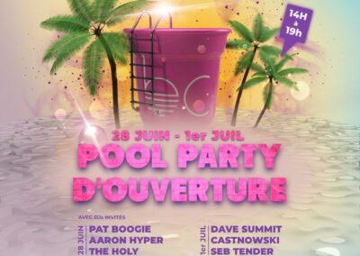 Pool Party d'Ouverture